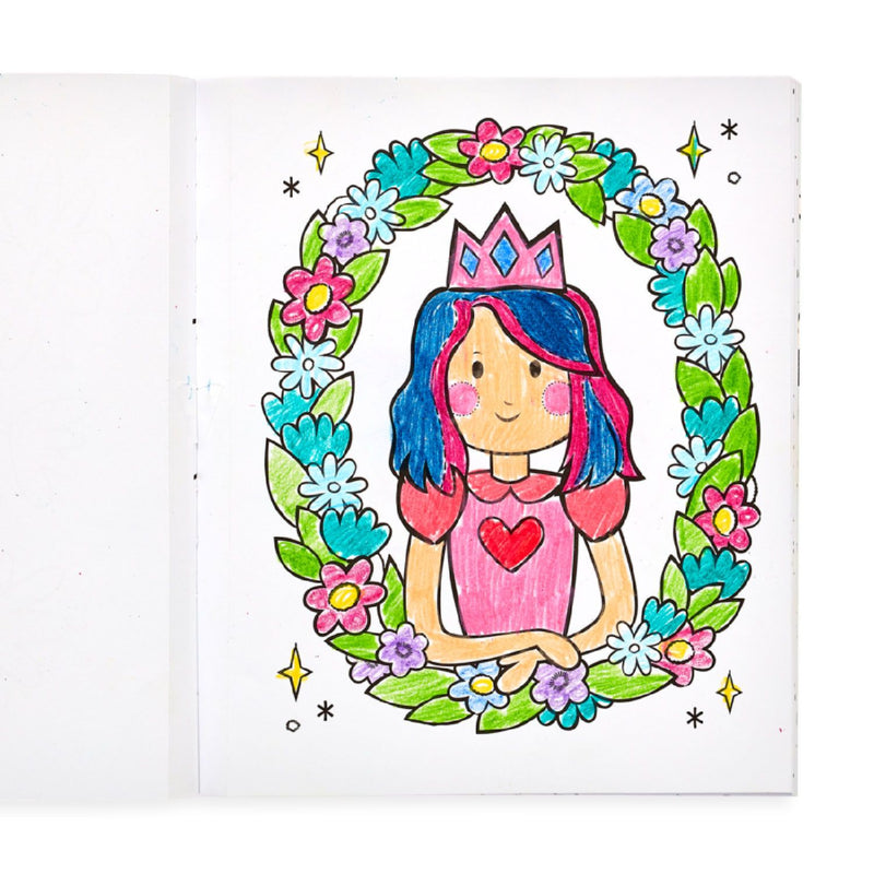 Princess & Fairies Coloring Book