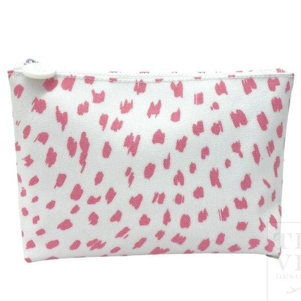 Spot On Cosmetic Bag Pink