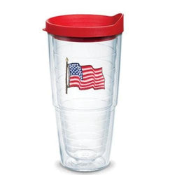USA Flag Tervis Tumblers, 24 oz. - Personalized