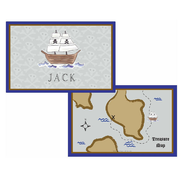 Ahoy Matey Placemats - Personalized