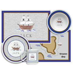 Ahoy Matey Tabletop Collection - 4 Piece Set - Personalized