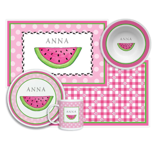 Ant Picnic Tabletop Collection - 4-piece set - personalized