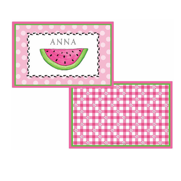 Ant Picnic Tabletop Collection - placemat - personalized