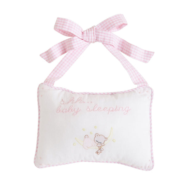 Baby Sleeping Door Pillows- Pink