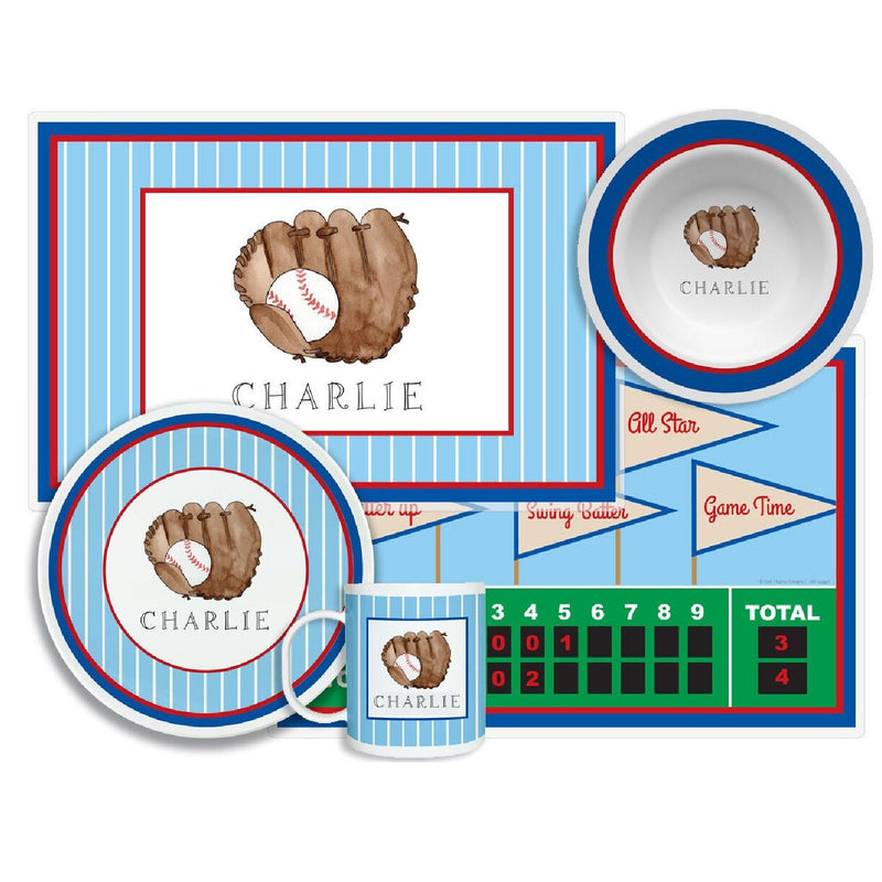 Baseball Slugger Tabletop Collection - 4-piece set - personalized