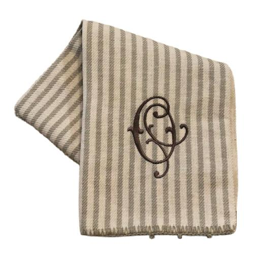 Busatti Stripe Hand Towel - Personalize or Monogram