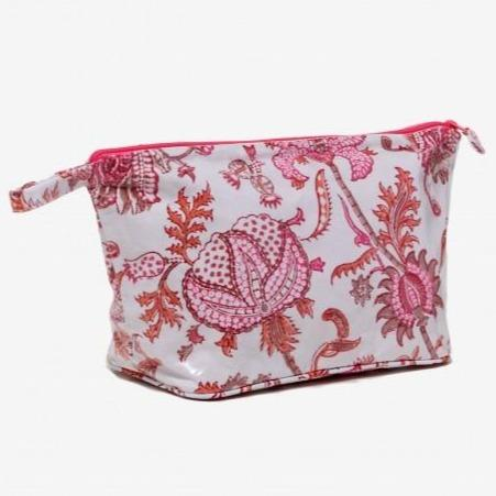 Amanda Toiletry Bag Orange Pink