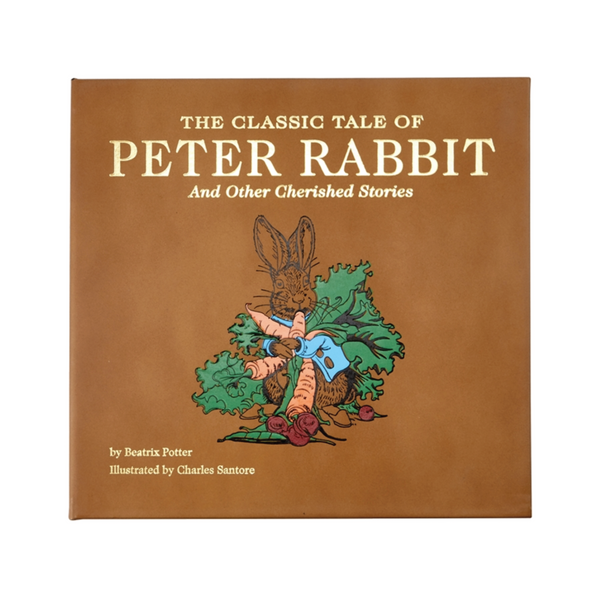 The Classic Tale of Peter Rabbit Leather Bound Book