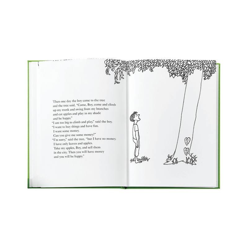 The Giving Tree Leather Bound Book