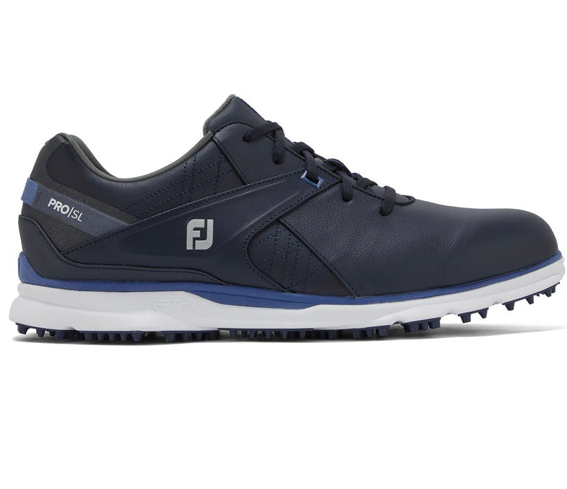 Footjoy Pro SL Men's Navy Spikeless Shoes