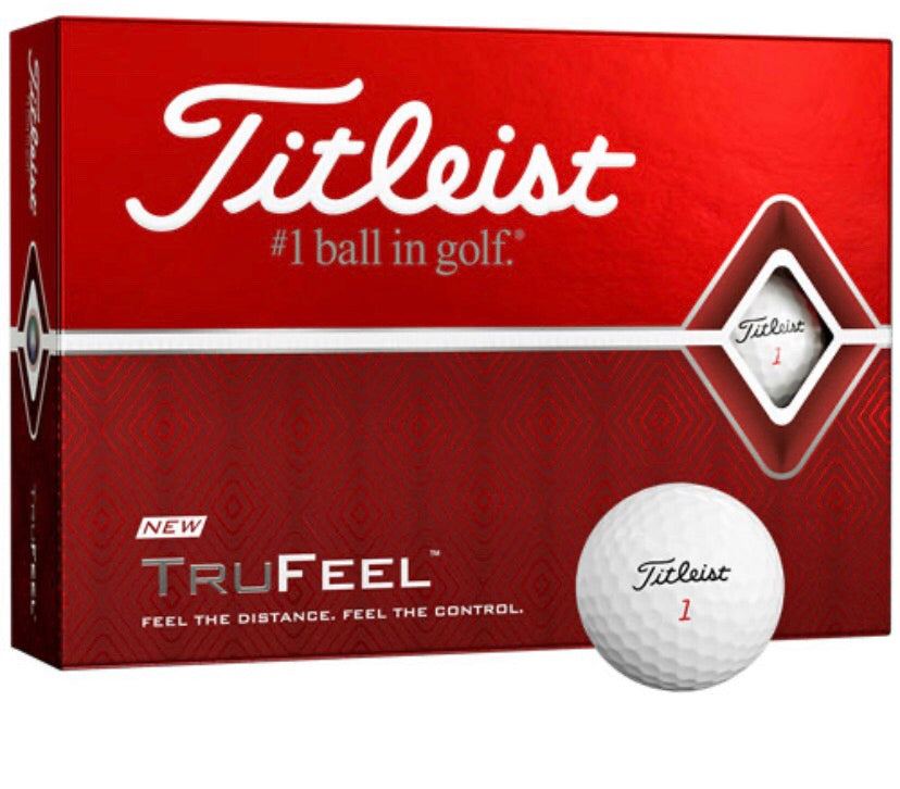 Titleist Trufeel Golf Balls 3 Pack