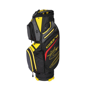 Cobra Ultralight Cart Bag Black/Yellow
