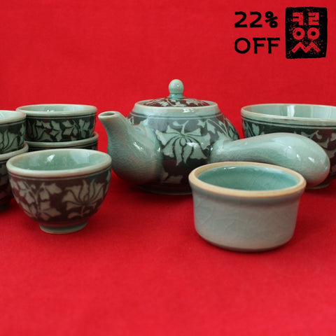 Korean_Traditional_Porcelain_Tea_set_for_five_9pcs_Pottery_Arabesque_Kitchenware_Teacup_Green_Tea_Home_Decor_Oriental_Gift_and_Souvenir_Korean_Essentials