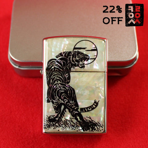 Pocket_Lighter_Zippo_Style_Mother_of_Pearl_Moonlight_Tiger_Accessory_Gift_and_Souvenir_Korean_Essentials