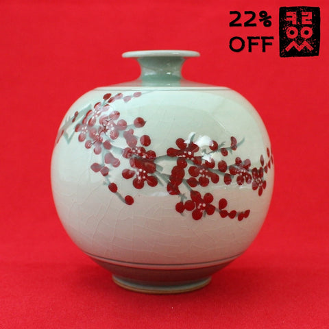 Porcelain_Jar_of_Celadon_Pottery_Maehwa_New_Home_Decoration_Artwork_Korean_Essentials