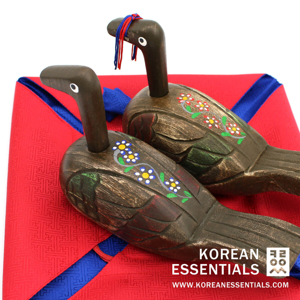 Hand-carved Wedding Duck:  Traditional Goose