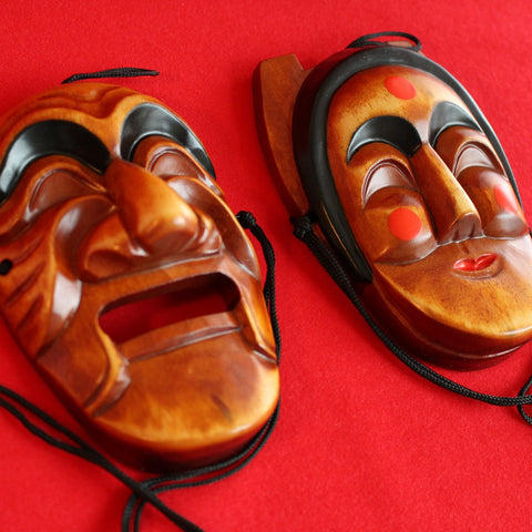 Woodcraft_Hahoe_Mask_Korean_Tradition_Artcraft_Home_Decoration_Korean_Essentials
