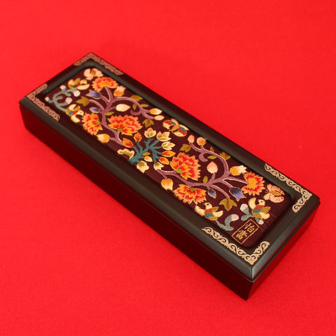 Pen_Pencil_Case_Organizeron_Office_Mother_of_Pearl_Embroidery_Home_Decor_Woodcraft_Gift_and_Souvenir_Korean_Essentials
