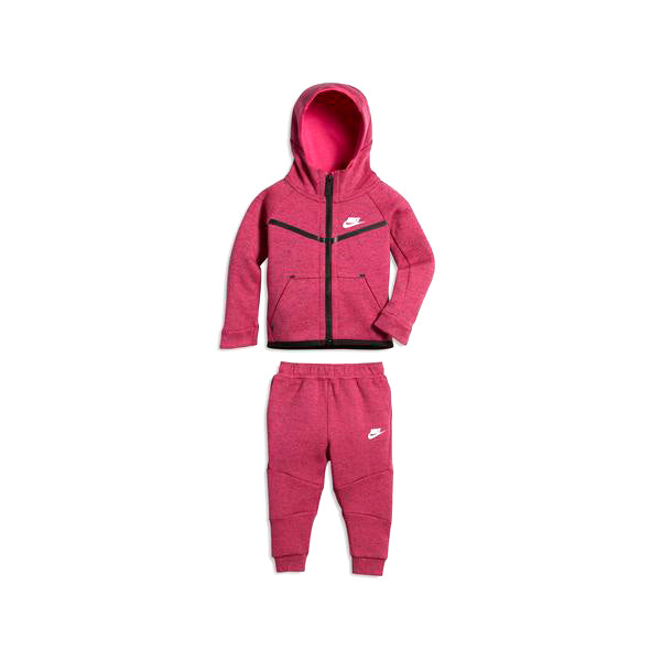 Baby's Tracksuit Nike 400-A3D Fuksiaroosa Must