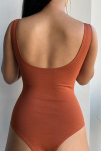 Amelia BodySuit - Dark Orange