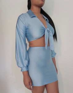 Mila 2 Piece Set - Blue
