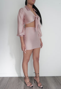 Mila 2 Piece Set - Blush