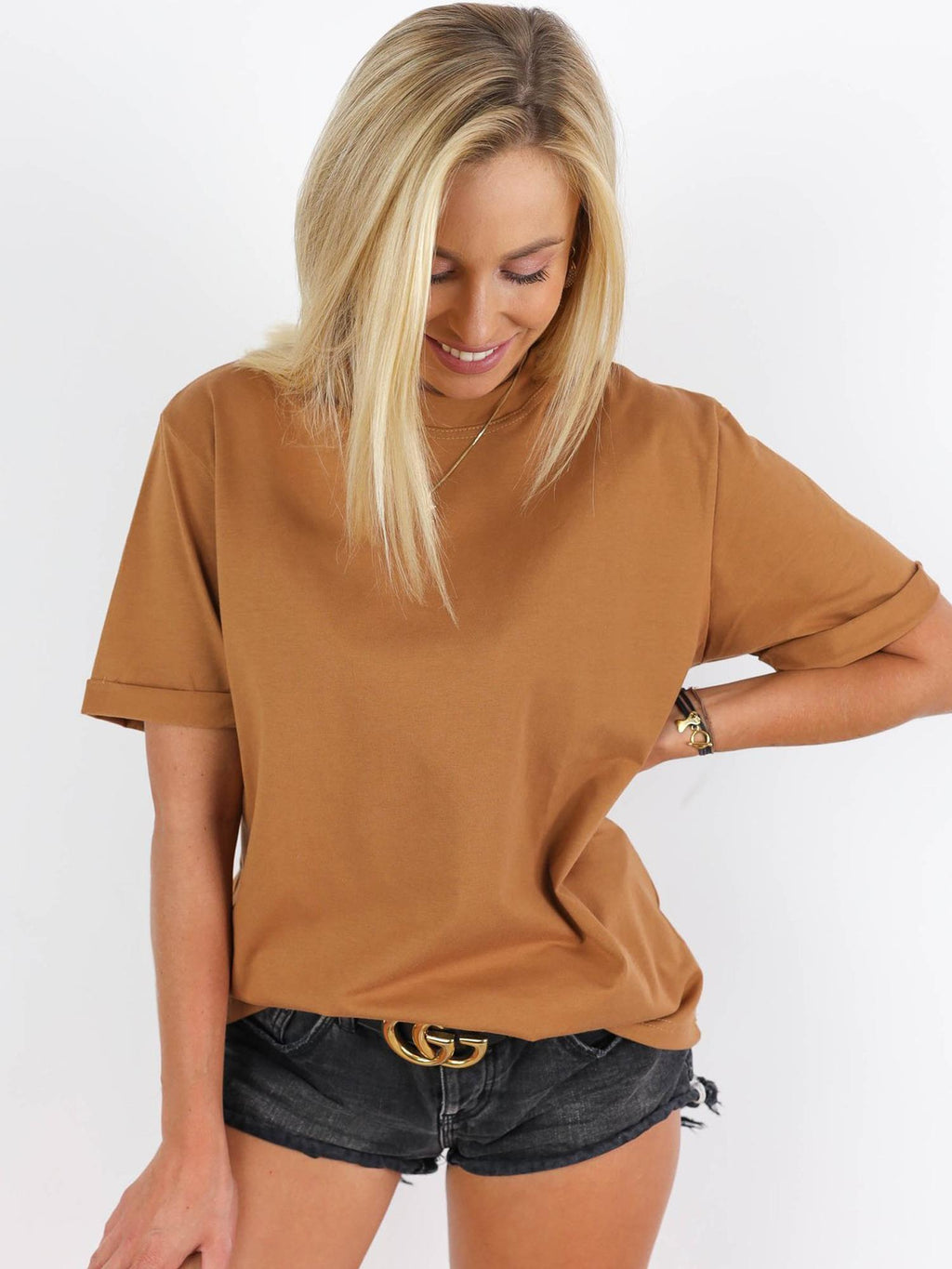 Basic T-Shirt Camel