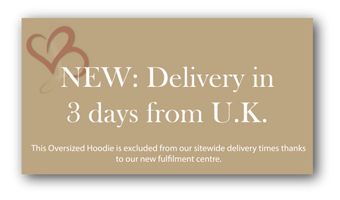 Oversized Hoodie - Delivery within 3 days
