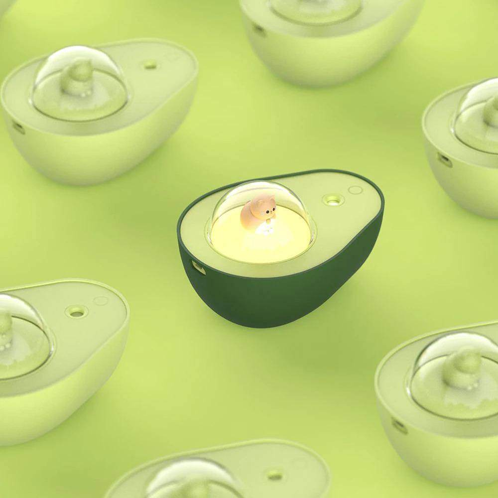 Cute Avocado Humidifier Night Light - Love By Letterbox