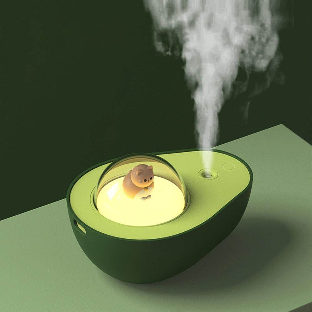 Cute Avocado Humidifier Night Light