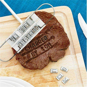Personalised Barbecue Branding Iron - BBQ Iron - Love By Letterbox
