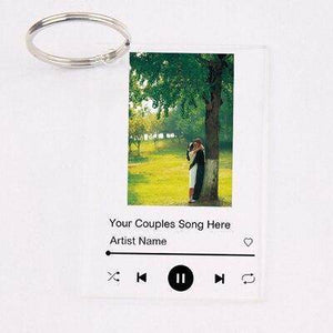 Personalised Spotify Song Keychain Plaque