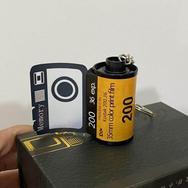 Personalised Photo Film Roll Keychain