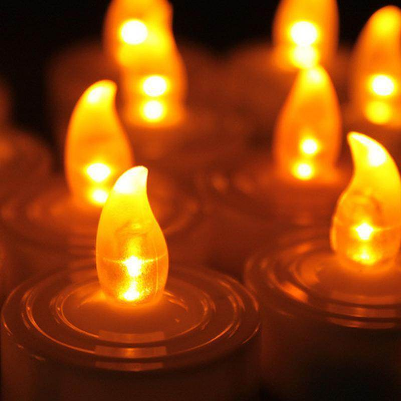 12 LED Tea Light Candles-Love By Letterbox