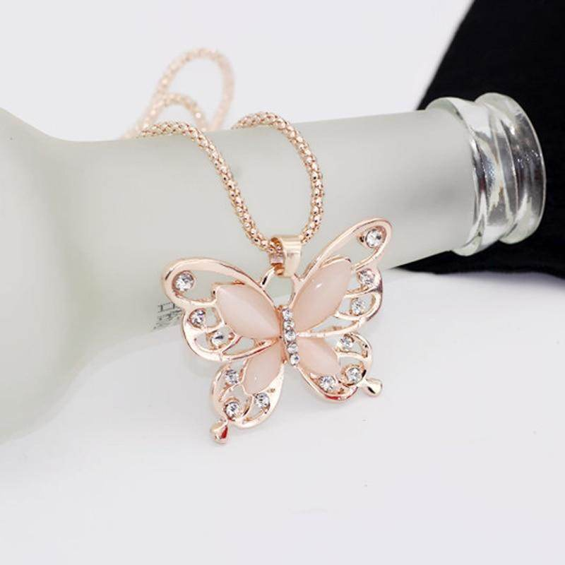 Butterfly Necklace-Love By Letterbox