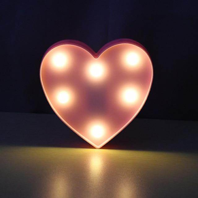 Individual LED Letters-Love By Letterbox