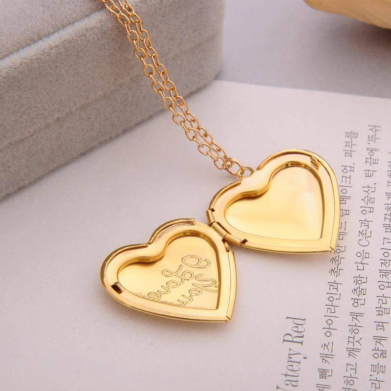 """I love you"" Engraved 6 Colours DIY Love Heart Secret Message Locket-Love By Letterbox"