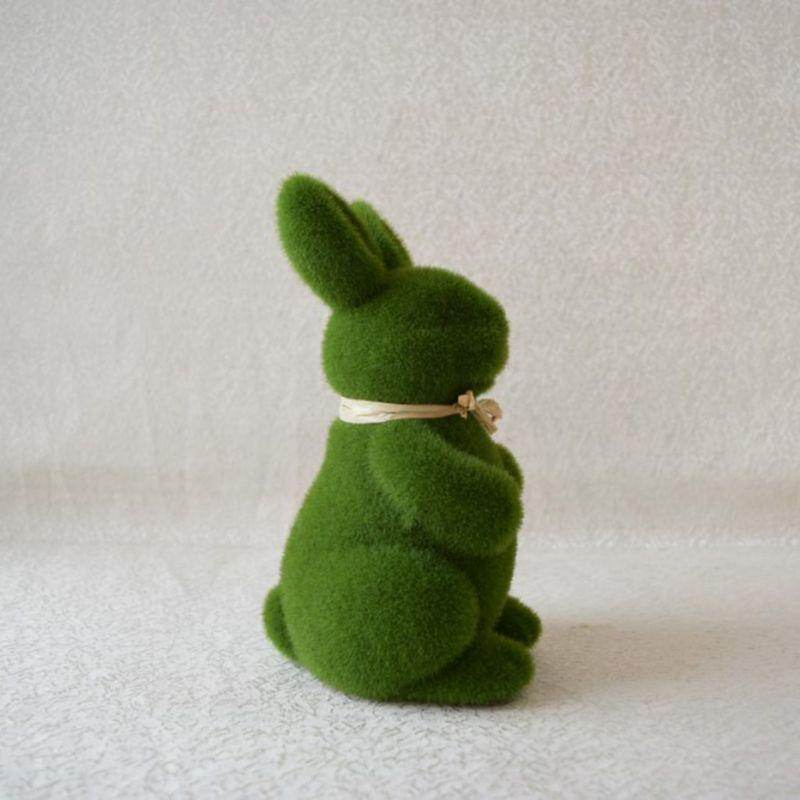 Lovely Handmade Moss Rabbit-Love By Letterbox