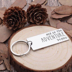 New Job New Journey Keychain-Love By Letterbox