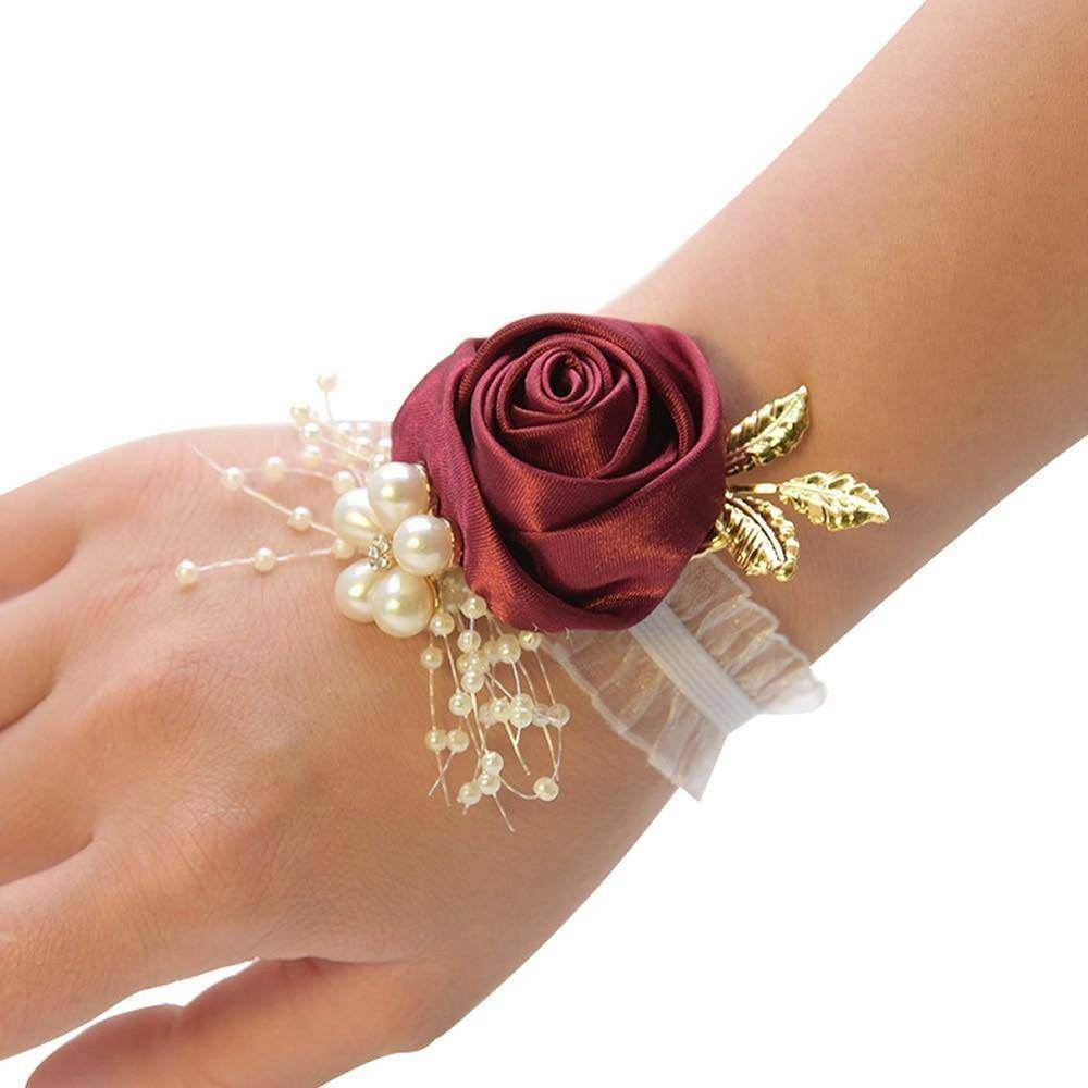 Rose Bridesmaid Bracelet Wedding - Love By Letterbox