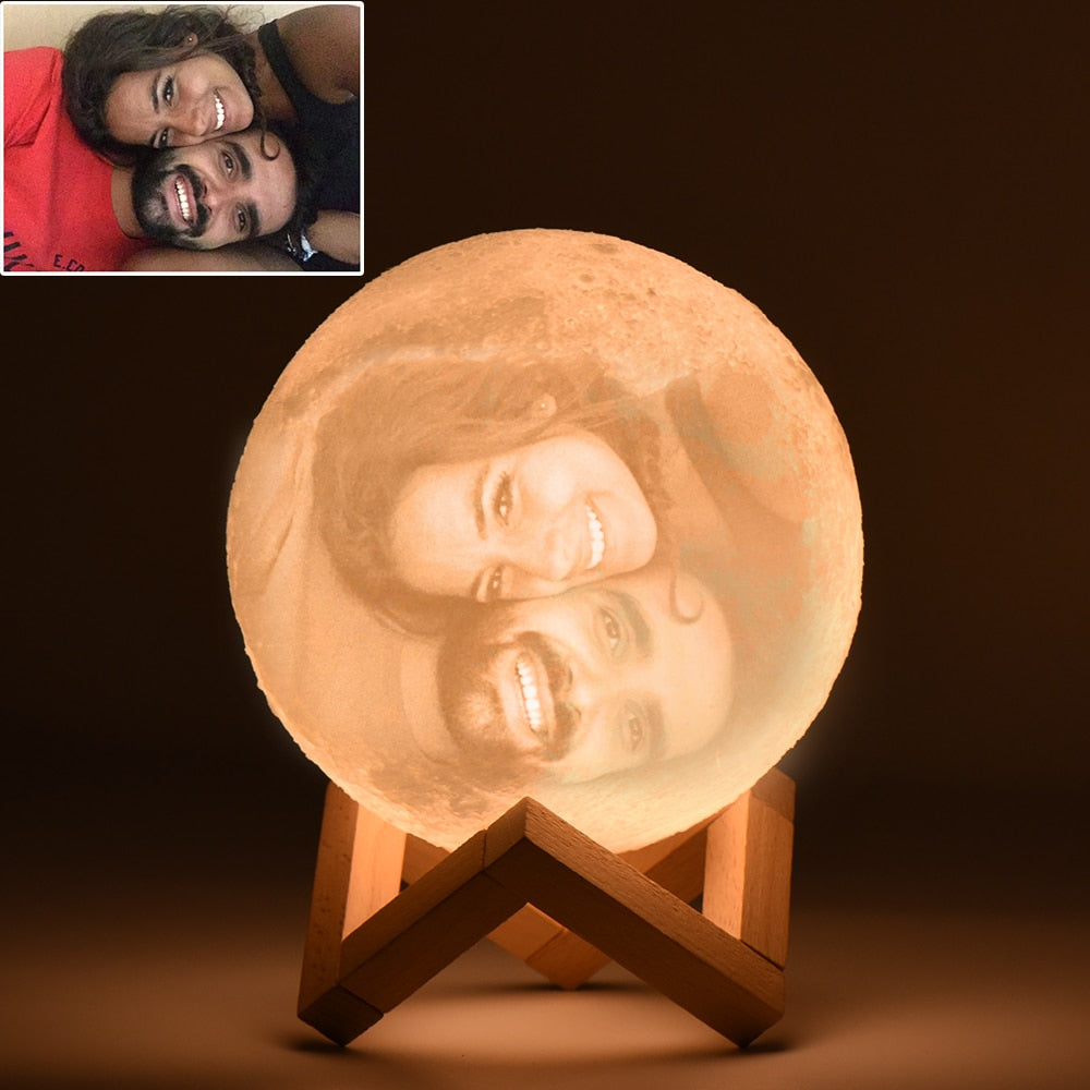 Personalised Moon Light Love By Letterbox