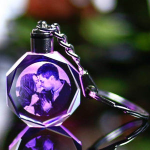 LED Photo Gift Keyring-Love By Letterbox