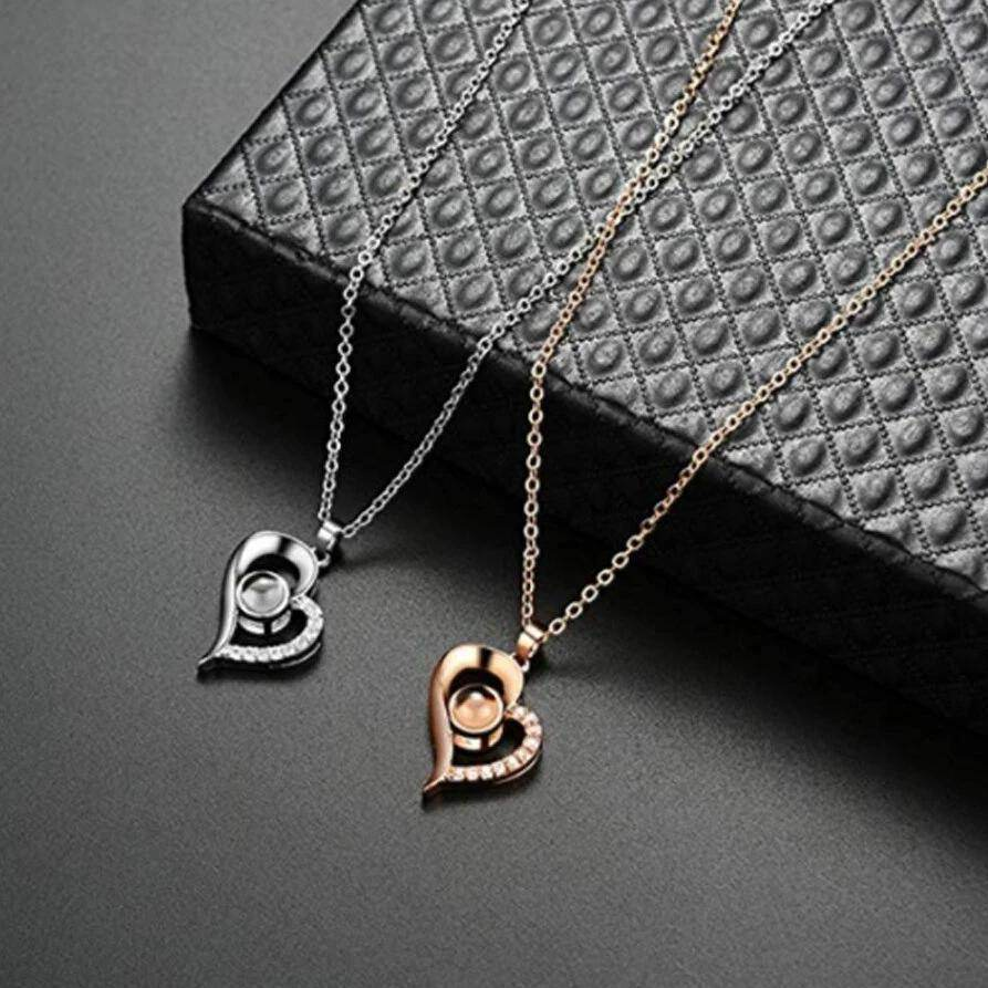 Heart | I love you Pendant-Love By Letterbox