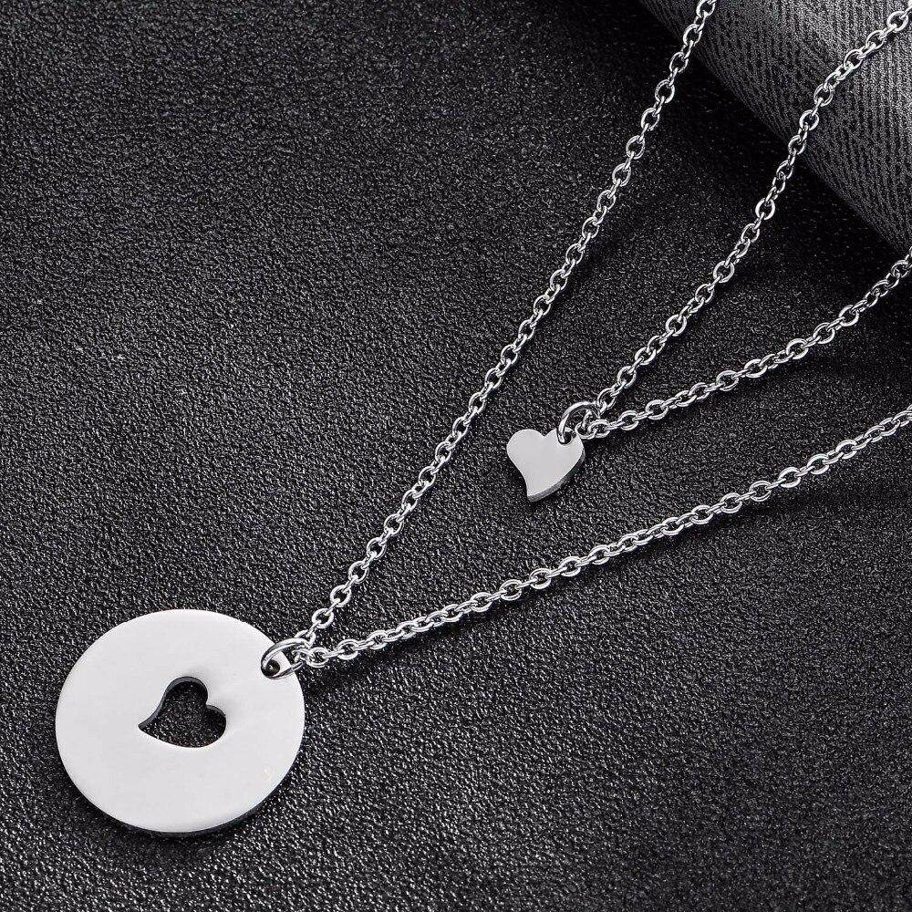 Matching Daughter Heart Necklace-Love By Letterbox