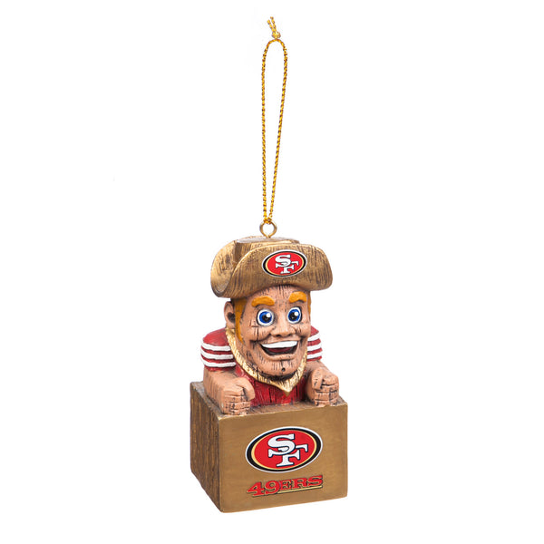 San Francisco 49ers Mascot Ornament