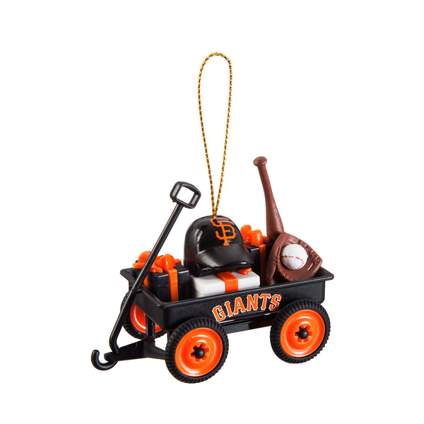 San Francisco Giants Wagon Ornament