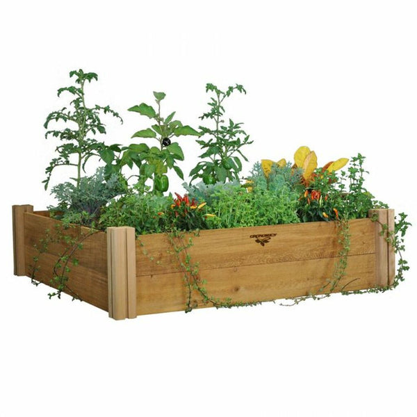 Modular Raised Garden Bed 48x48x13 - Two Level