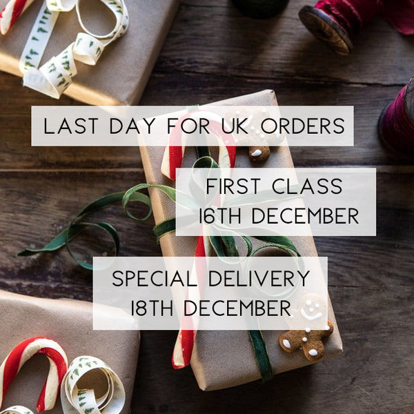 Last Days for Christmas Ordering