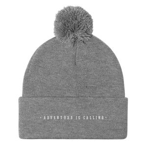Adventure is Calling - Pom Pom Beanie - Sovende Bjorn