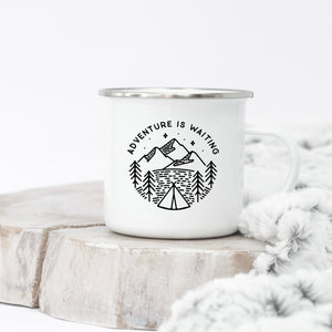 Adventure is Waiting - Enamel Mug